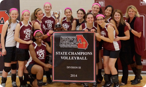 VB 2014 State Champions